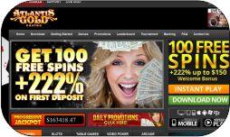 Atlantis Gold Casino Erfahrungen