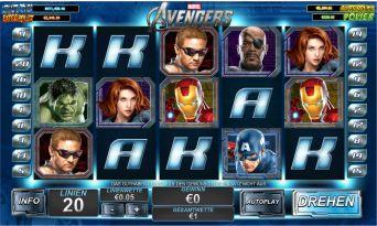 Avengers Slot Bild