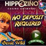 21 Freispiele Genie Wild Slot Hippozino Casino