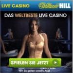Gewinnen im Live Casino William Hill mit 25 € Bonus