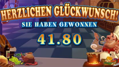 Big Chef Slot Gewinn