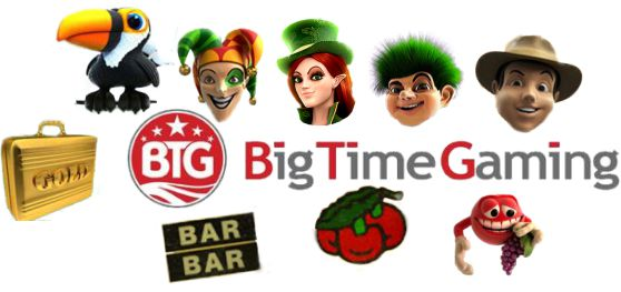 Big Time Gaming Slots Seite