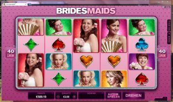 Bridesmaids Slot Spielautomat