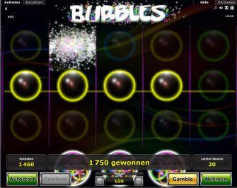 Bubble Slots Gewinn