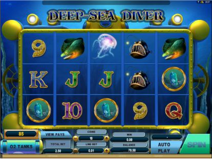 Deep Sea Diver Slot Spielautomat
