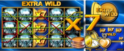 Extra Wild slot - Casumo Casino