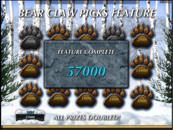 Freispiel Gewinn Tiger vs Baer Slot