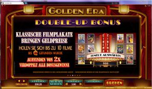 Freispiele und Double bonus