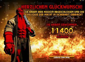 Gewinn Hellboy Slot