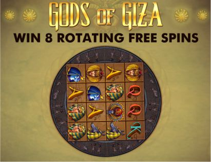 Gods of Giza Slot Artikel
