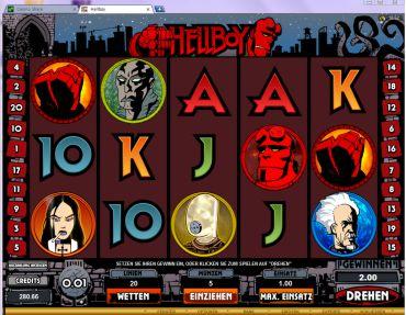 Hellboy Slot Bild