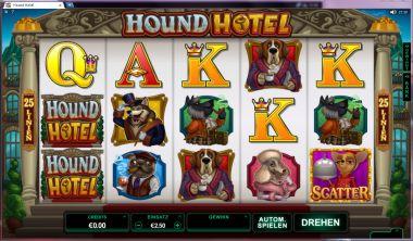 Hound Hotel Slot Bild T