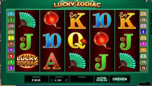Lucky Zodiac Slot Spielautomaten