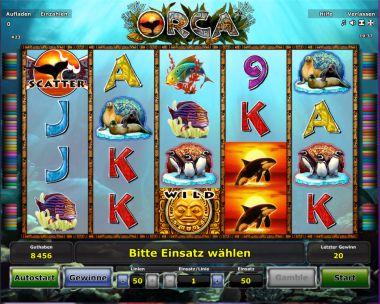 Orca Slot Spielautomat
