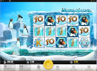 Penguin Splash Slot Bild