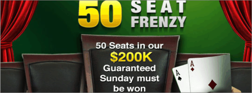 50 Seat Frenzy 50 Plätze