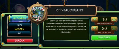 Riff Tauchgang