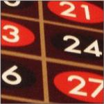 Gleichsatzspiel auf Dutzende unter Berücksichtigung der Sechsertransversalen