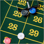 Spielansatz für Sechsertransversalen geeignet auch für einfache Chancen und Dutzende