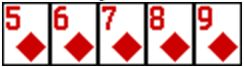 Straight Flush_pokerkarten