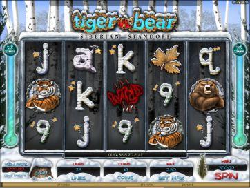 Tiger vs Baer Tabelle