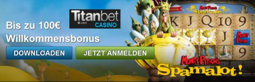 Titanbet Casino neue Slots