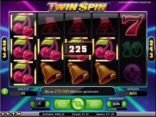 Twin Spin Slot Kirschen Gewinn