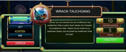 Wrack Tauchgang