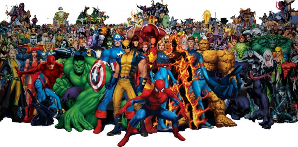alle Marvel Slots Helden