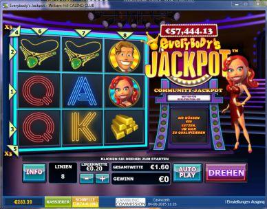 everybodys Jackpot Slot Bild